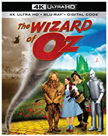 The Beloved Classic THE WIZARD OF OZ arrives on 4K Ultra HD October 29th from Warner Bros.