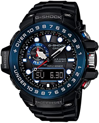 3ebf55e13 Amazon.com: Casio G-Shock GWN1000B Master of G Series Quality Watch - Black  / One Size: Watches