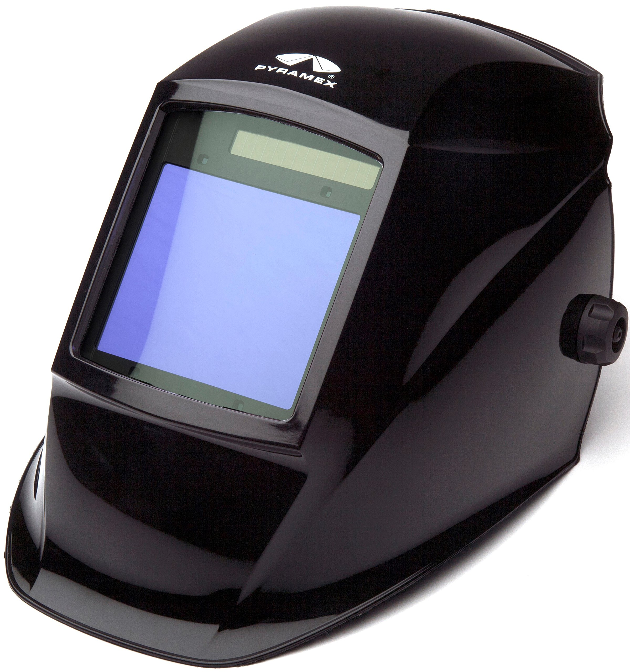 Pyramex Safety WHAM3030GB Leadhead Auto Darkening Welding Helmet, Glossy Black