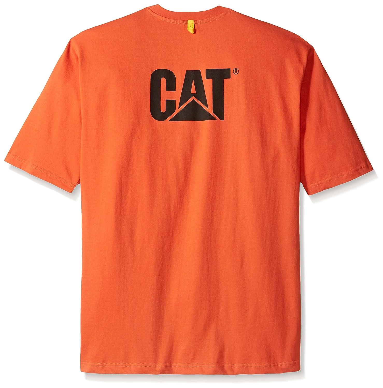 Caterpillar Big and Tall Tall Tall Men's Trademark T-Shirt 35fc45