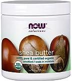 NOW Organic Shea Butter, 7-Ounce