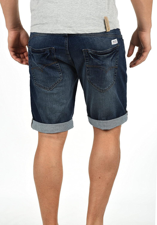 Destroyed Jeans Denim Indicode Hose Herren Mit Kurze Shorts Hallow dxQsCthr