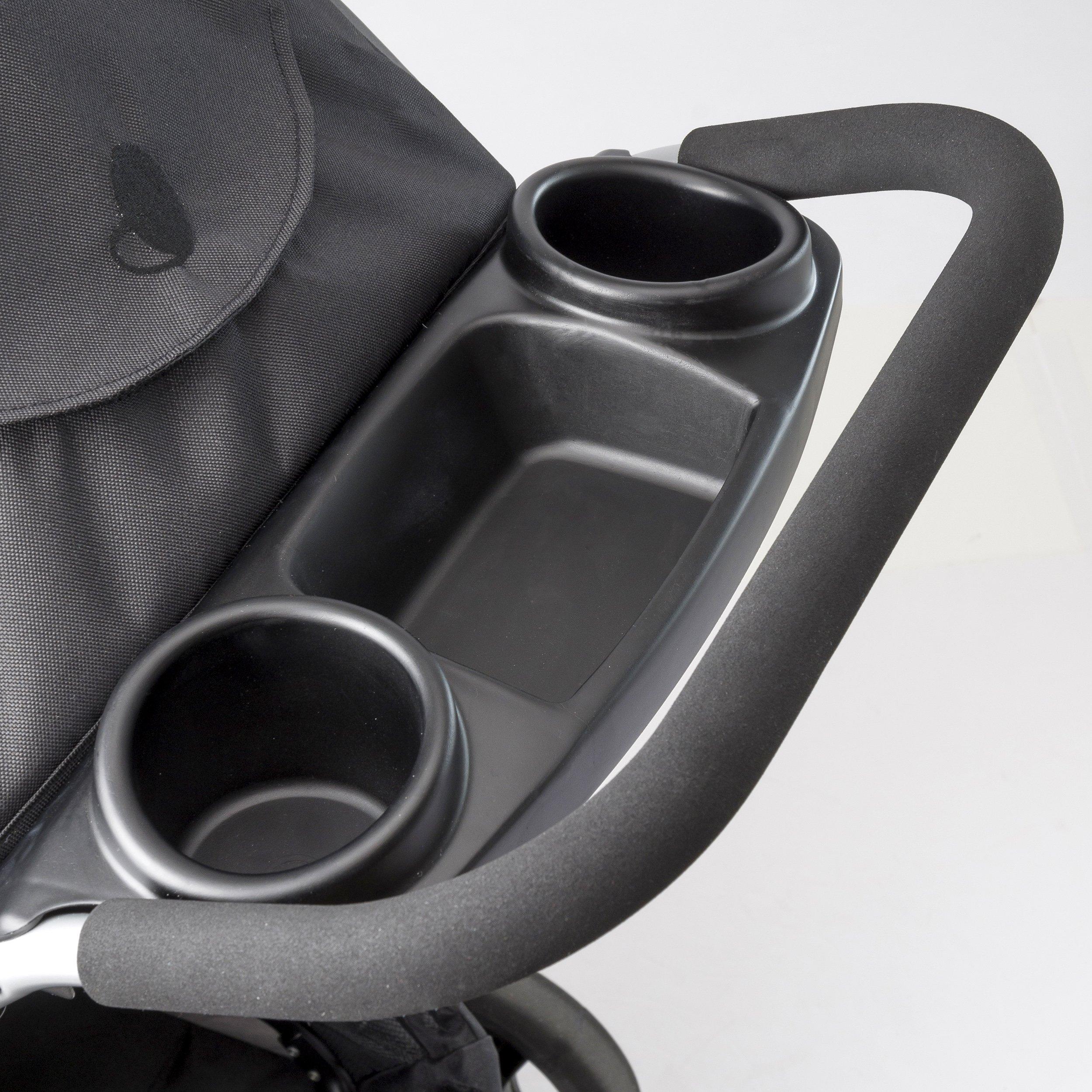 Evenflo Advanced SensorSafe Epic Travel System with LiteMax Infant Car Seat, Jet by Evenflo (Image #10)
