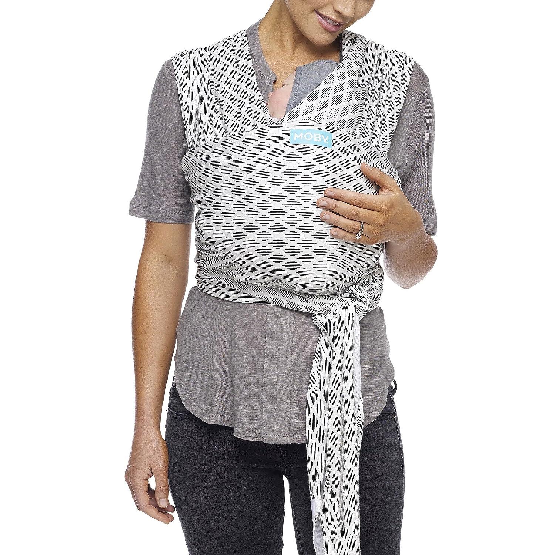 36cc49b3ef1 Amazon.com   Moby Evolution Baby Wrap Carrier (Diamonds) - Toddler ...