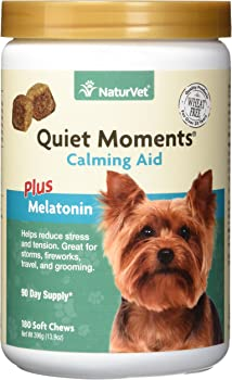 NaturVet Quiet Moments soothing Aid Dog Soft Chews