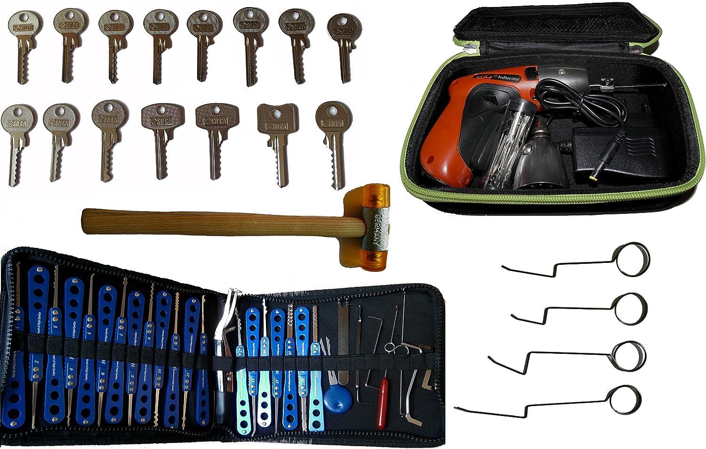 Picklock24. Kit completo de ganzúas para profesionales