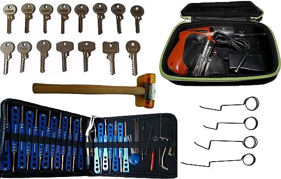 Picklock24. Kit completo de ganzúas para profesionales: Amazon.es ...