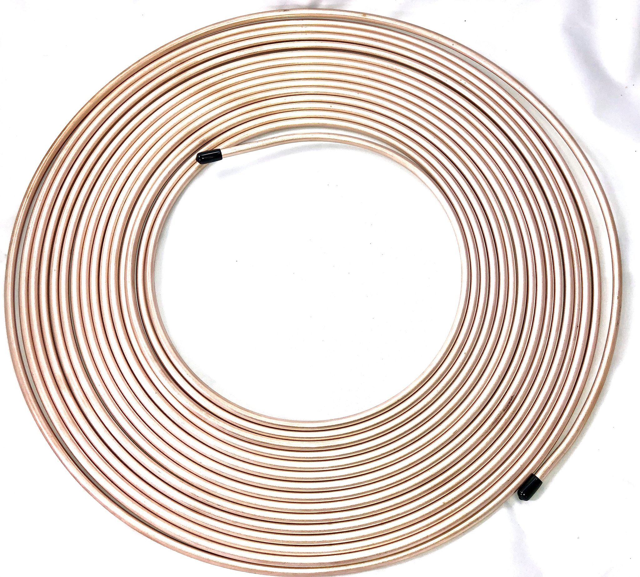 50 Ft. Roll of 1/4'' Copper Nickel Brake Line Tubing