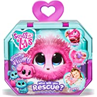 Scruff A Luvs Rescue Pet Soft Toy - Rabbit, Cat or Dog, Pink