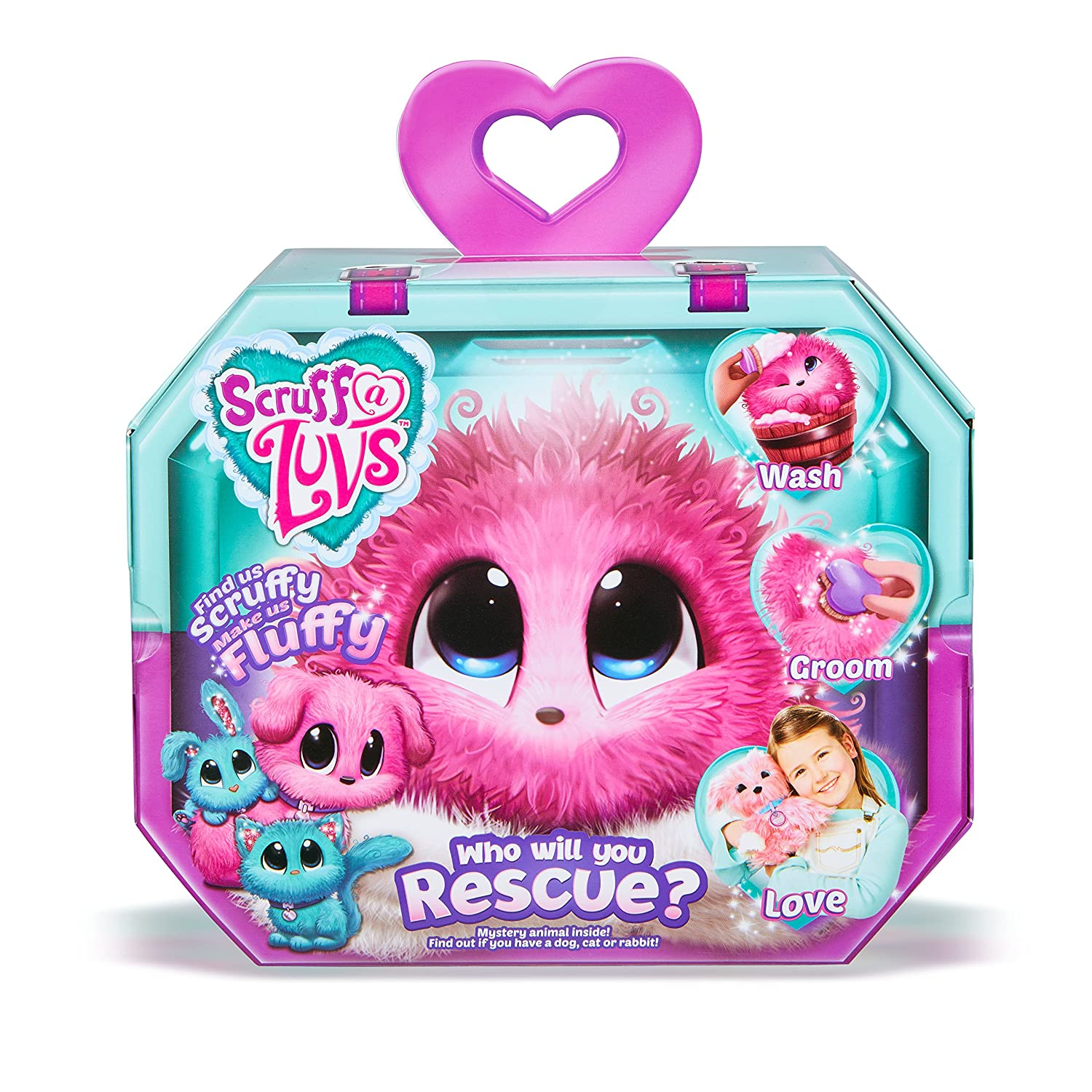 Scruff-a-Luvs Mystery Rescue Pet - Pink Moose Toys 635SLP