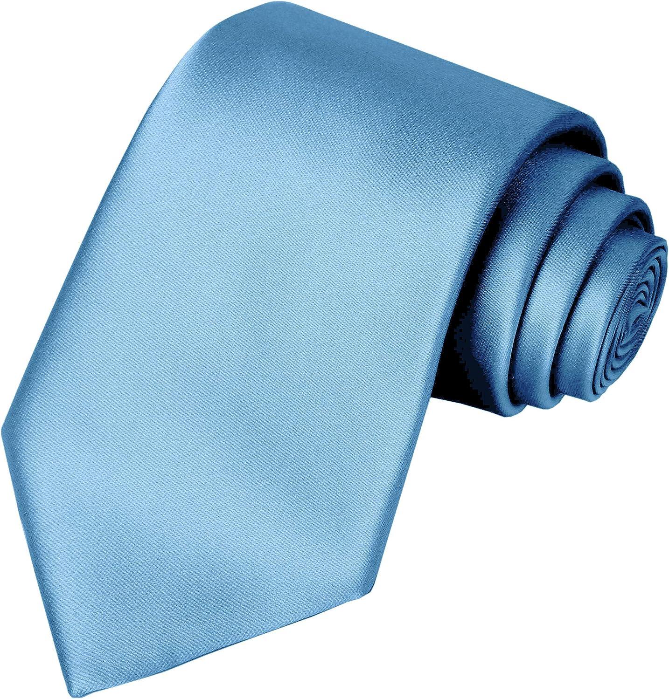 Gift Box KissTies Boys Tie Satin Necktie For Teens Ties