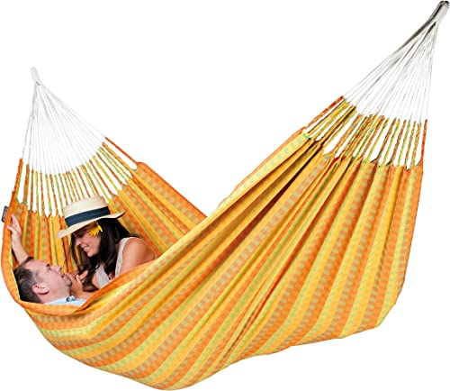LA SIESTA Carolina Citrus – Cotton Double Classic Hammock