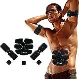 Elettrostimolatore Muscolare Trainer Uomo/Donna Addome/Gambe/Waist/Glutei Massaggi-attrezzi USB Ricaricabile--05(3 Apparato)