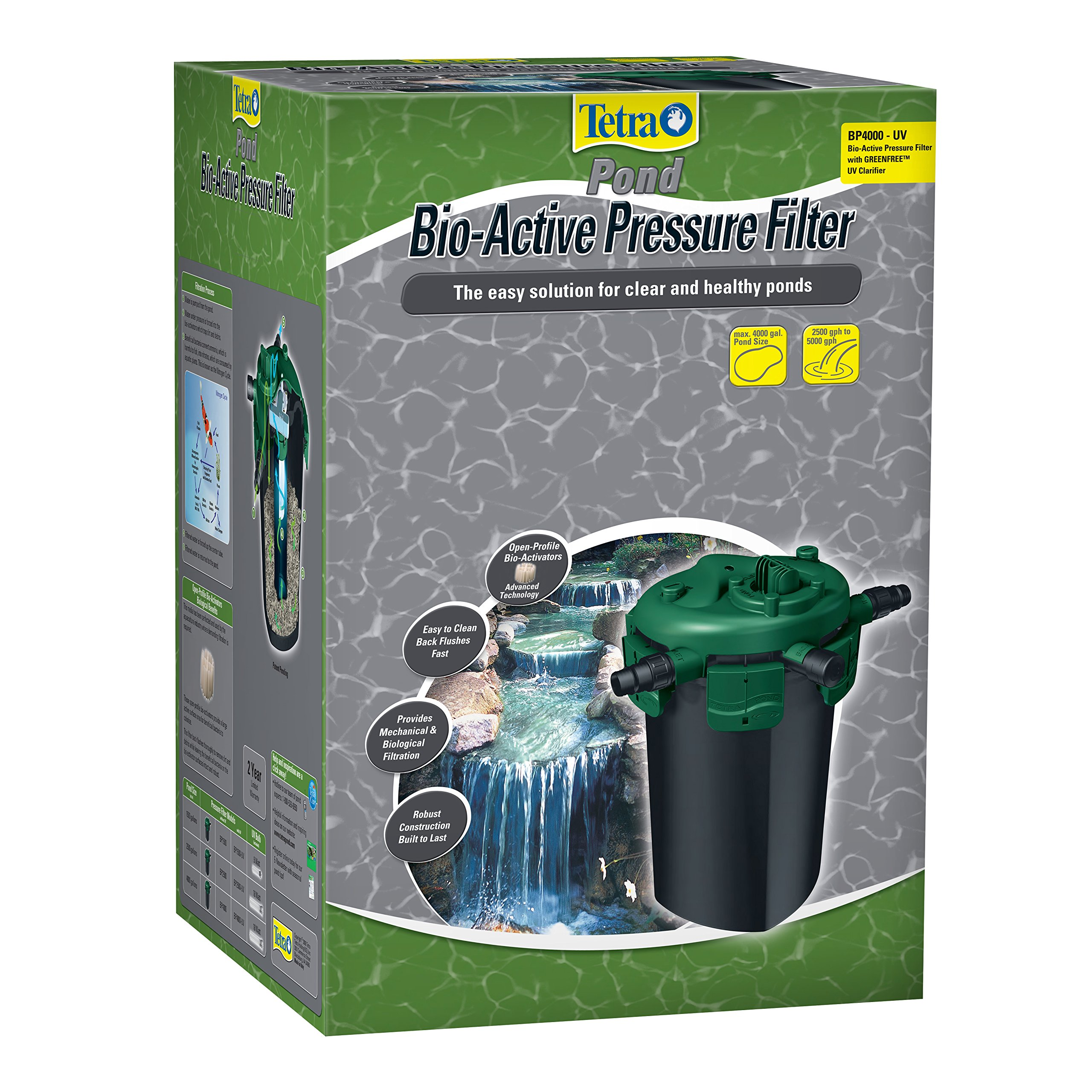 TetraPond Bio-Active Pressure Filters BP4000-UV by Tetra Pond