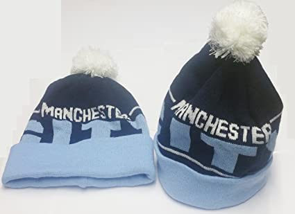 Image Unavailable. Image not available for. Color  Manchester City Bobble  Hats ... 236f842f3a1c
