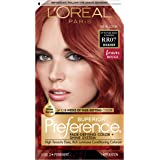 L'Oreal Paris Superior Preference Fade-Defying + Shine Permanent Hair Color, RR-07 Intense Red Copper, Pack of 1, Hair…