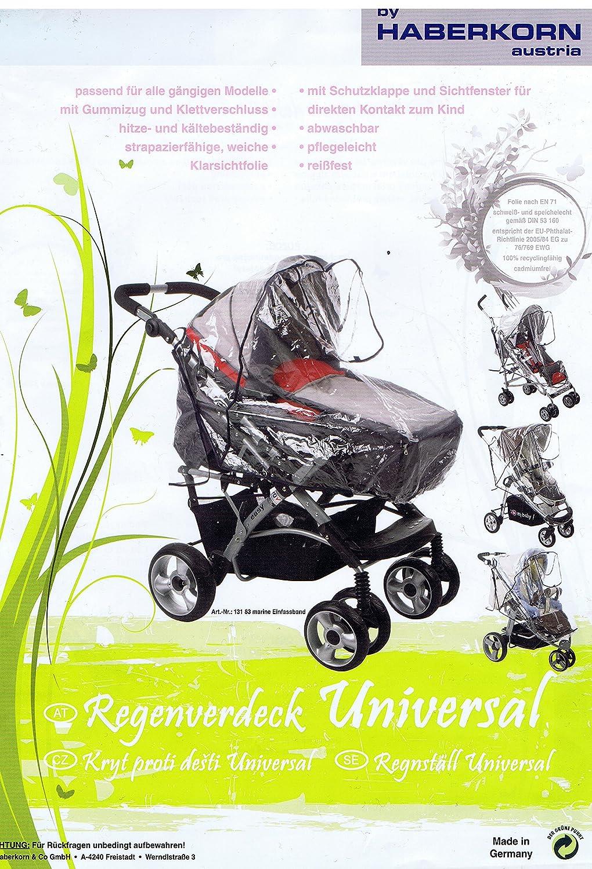 Universal Regenschutz Regenverdeck f/ür Kinderwagen Sportwagen Buggy