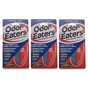 Tres paquetes de OdorEaters Super Tuff