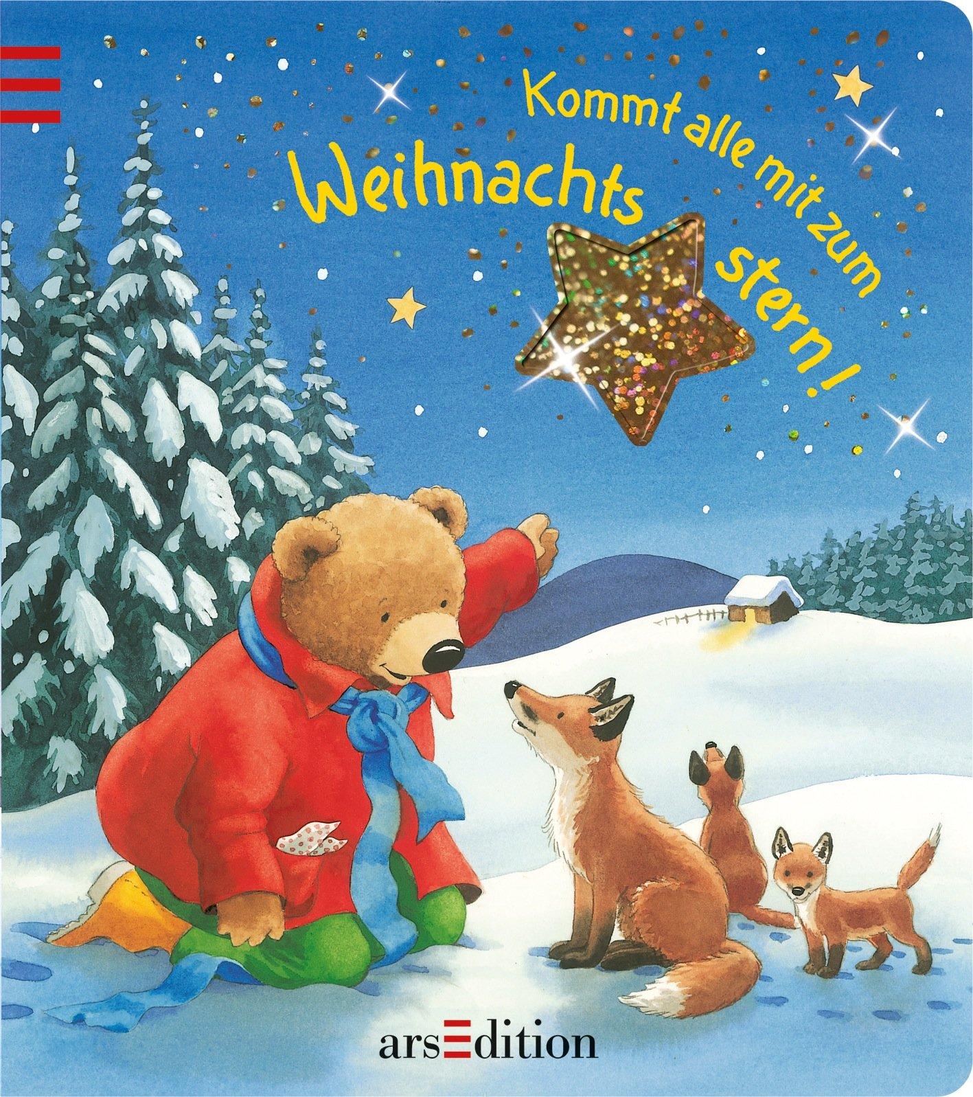 Kommt alle mit zum Weihnachtsstern: Weihnachtsbuch mit Terrassenstanzung