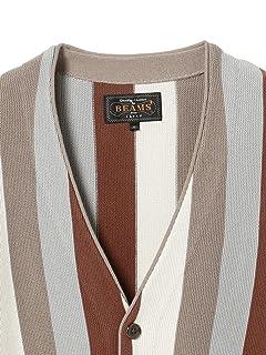Stripe Cardigan 11-15-1327-048: Brown