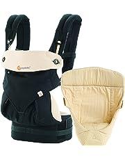 Ergobaby Baby Carrier Collection 360 Bundle of Joy, Black/Camel