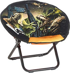 Idea Nuova Jurassic World Dinosaur Kids Mini Saucer Chair