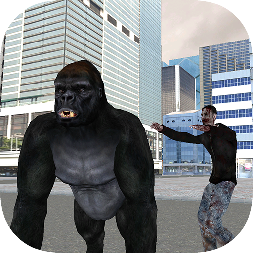Real Gorilla vs Zombies - City ()