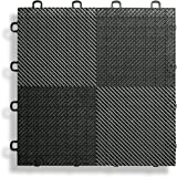 Deck and Patio Flooring Tile (Set of 30) Color: Black