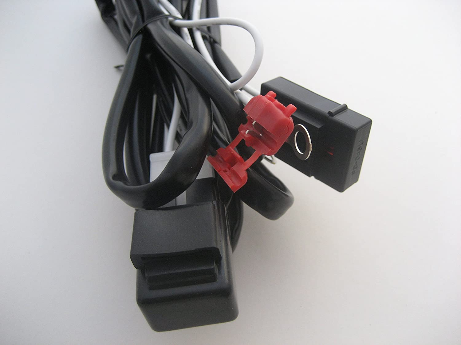 Complete Spot Light Fog Motorbike Motorcycle Wiring Loom Harness Manufacturers Uk Kit With On Off Switch Car