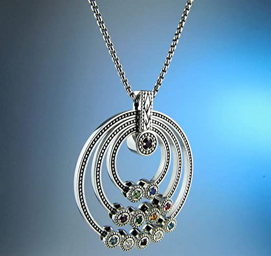 amazon com great grandmothers birthstone necklace gift for great