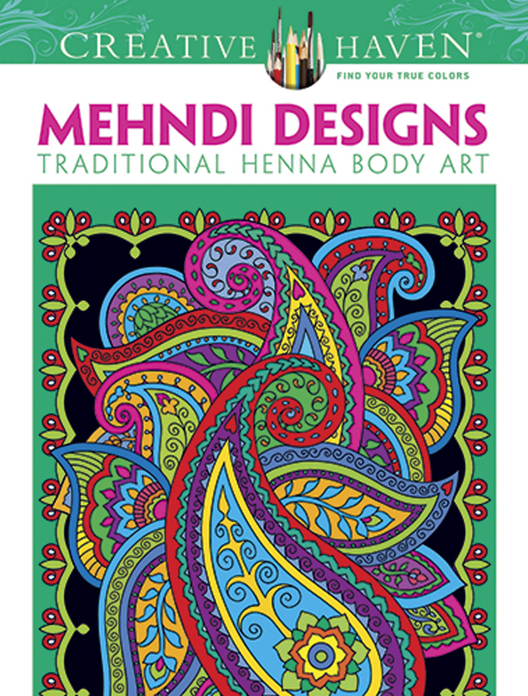 Dover Creative Mehndi Designs Coloring product image