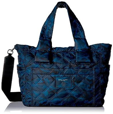 6cfcf5cf7ec6 Amazon.com  Marc Jacobs Women s Camo Printed Nylon Knot Babybag ...