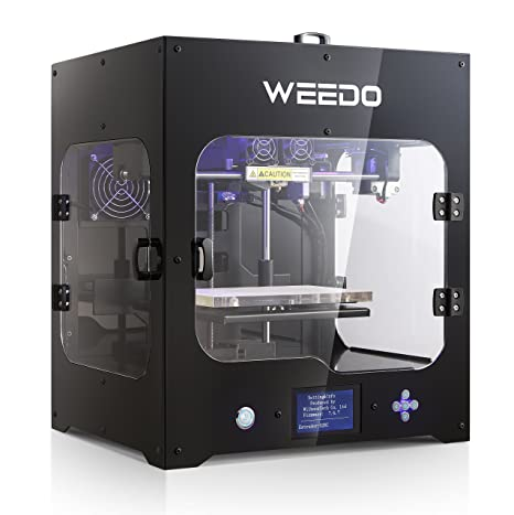 WEEDO M2 Desktop 3D Printer Printing Size 200x150x150mm with 3.5 inch LCD Display Metal Frame Structure High Precision Fully Enclosed Carbon Filter ...