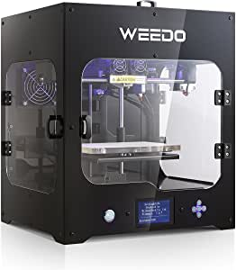 WEEDO M2 Desktop 3D Printer Printing Size 200x150x150mm with 3.5 inch LCD Display Metal Frame Structure High Precision Fully Enclosed Carbon Filter Printing Machine Home Use