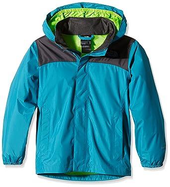 6252772272 The North Face Kids Boys Resolve Reflective Jacket (Little Big Kids),  Enamel Blue