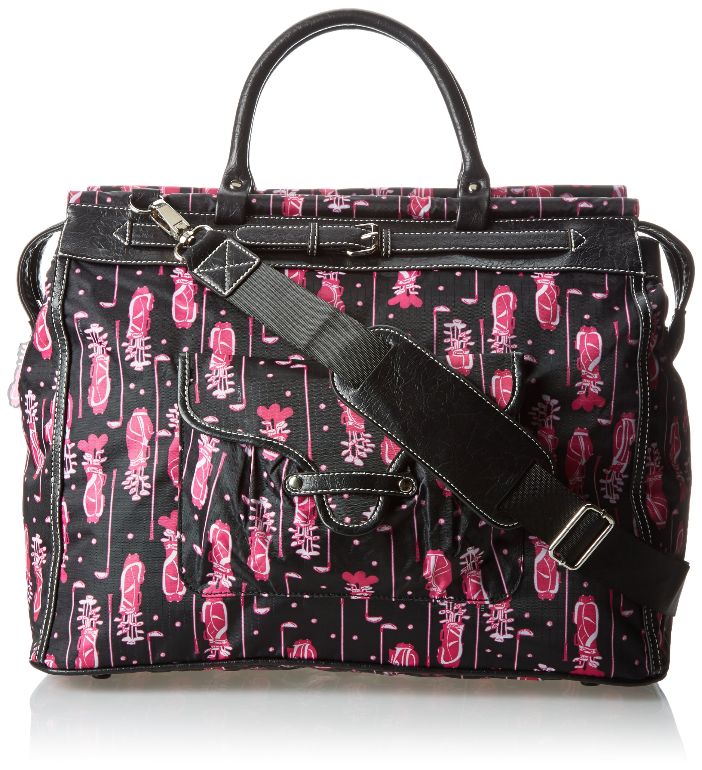 Sydney Love Fuchsia Golf Getaway Bag Carry On,Multi,One Size