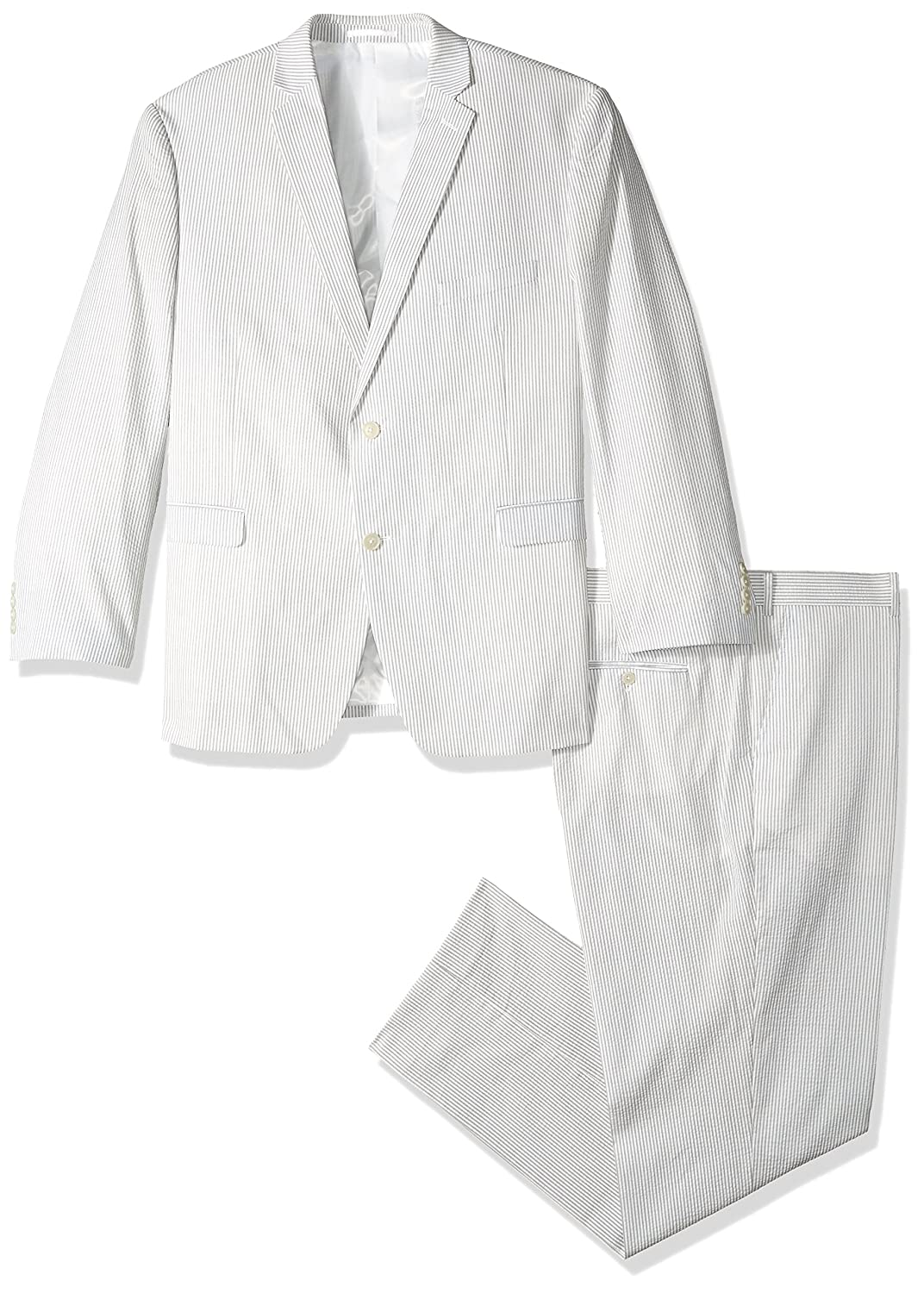 U.S Polo Assn Mens Big and Tall Cotton Suit