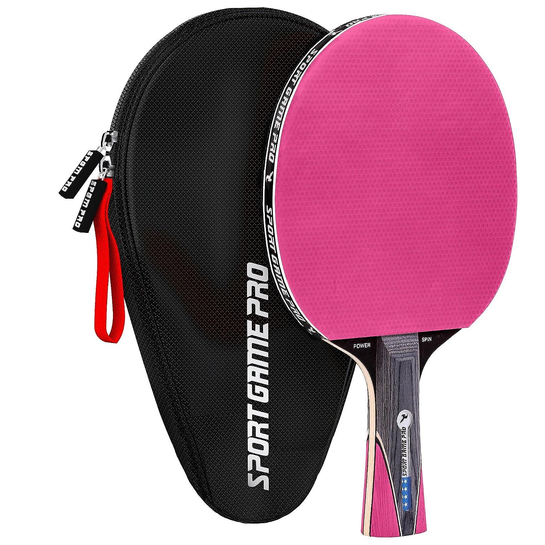 卓球ラケット JT-700 キラースピン ケース付き B078NB1PVG ピンク