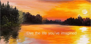 product image for Next Innovations Motivational Wall Art Life You Imagined Wall Decor Panel