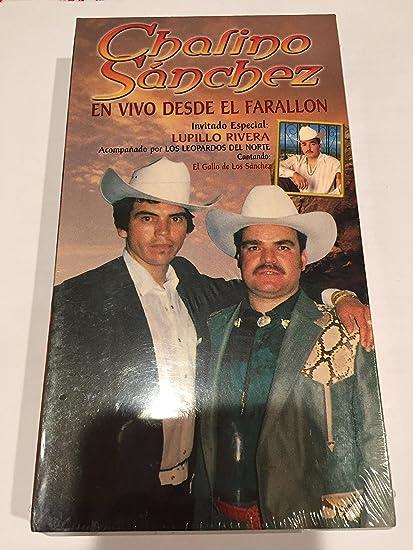 Chalino sanchez En vivo desde el farallon VHS