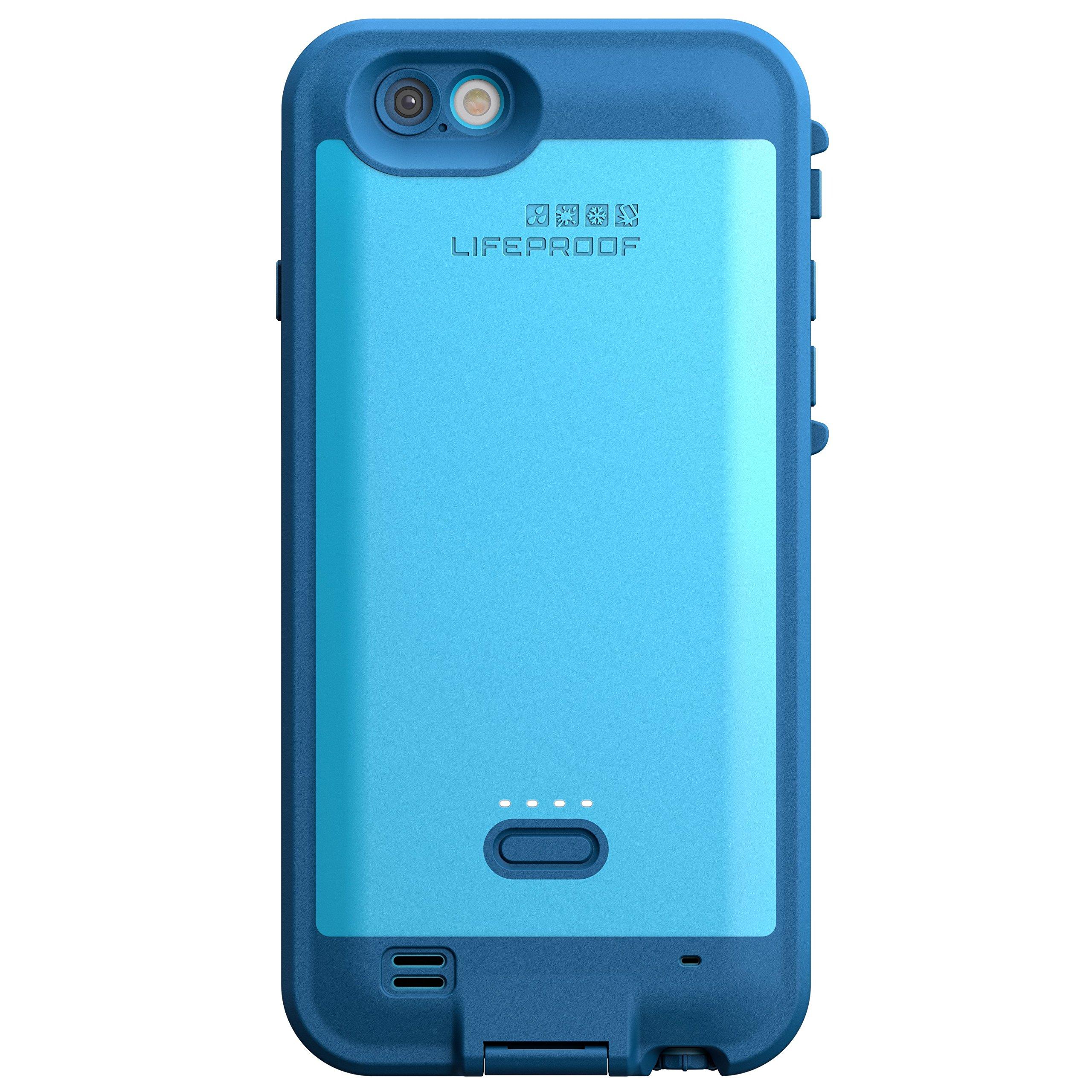 Lifeproof FRE POWER iPhone 6/6s (4.7'' Version) Waterproof Battery Case - Retail Packaging - BASE JUMP BLUE (BASE BLUE/SNOWCONE BLUE)