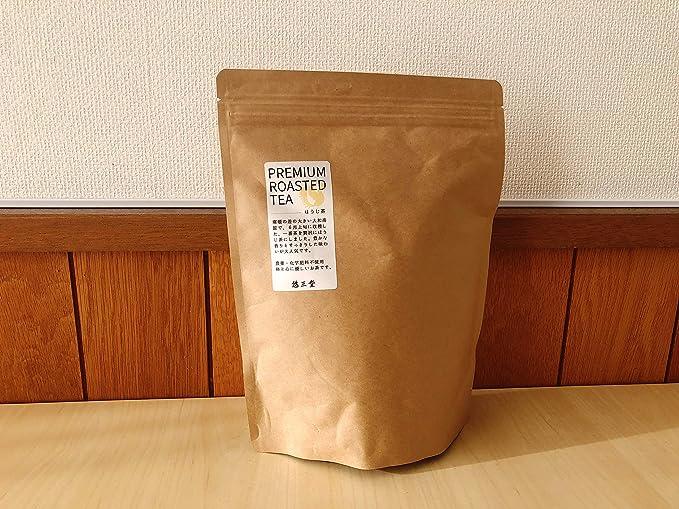 【悠三堂】自然栽培ほうじ茶ティーバッグ 4g×50P 無肥料・無農薬