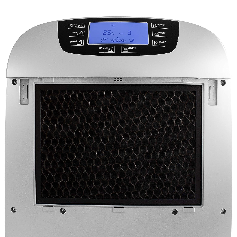SUNTEC d/éshumidificateur DryFix 3000 ~83 m/² , capacit/é de d/éshumidification=30l//jour, fonction purification dair inclus pour des pi/èces jusqu/à 200 m/³