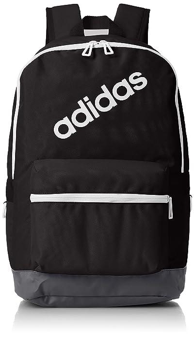 adidas BP Daily Mochila, Hombre, (Negro/Carbon/Blanco), 24x36x45