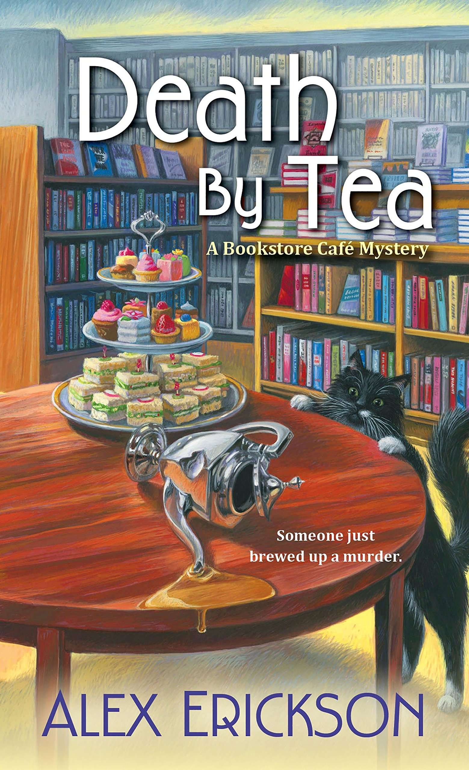 Death by Tea (A Bookstore Cafe Mystery) ebook