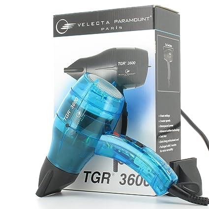 TGR Velecta Paramount TGR 3600 - Secador de pelo (con 2 difusores), color