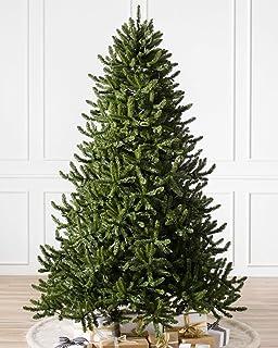 balsam hill adirondack spruce artificial christmas tree 7 feet unlit