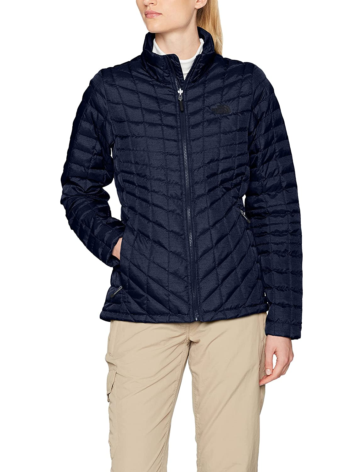 The North Face W Thermoball Z-In Chaqueta, Mujer, Urban Navy, M