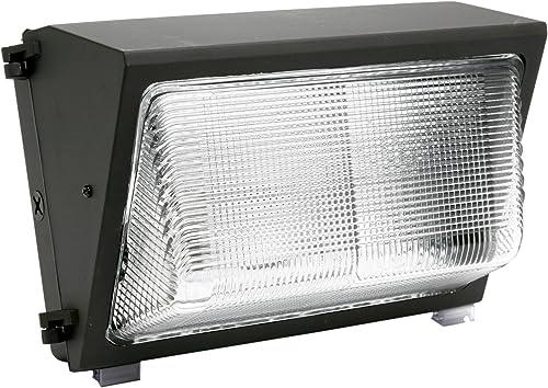 Designers Edge L-1763-150W-HPS ECOZONE 150-Watt High Pressure Sodium Deluxe Medium Size Wall Light