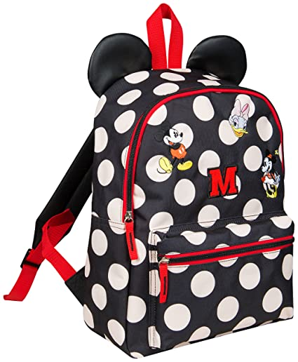 Minnie Mouse Backpack for Girl Bag with Ears Disney Bags for Women Mickey  Daisy Duck Travel Accessories  Amazon.co.uk  Luggage 6ab35fdff7099